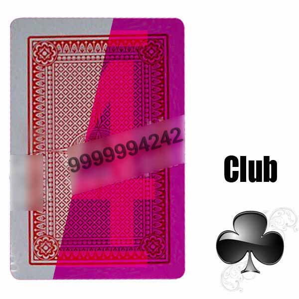 Poker Side Bin Li Paper Marked Cards Red Invisible Poker