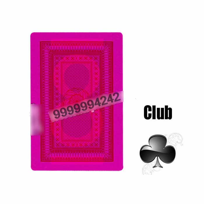 Magic Poker Revelol DX 555 Invisible Playing Marked Cards For Contact Lenses Gambling Cheat