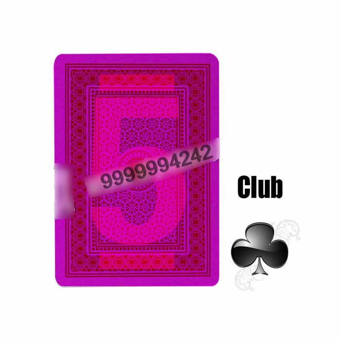 Magic Props Invisible Playing Cards Four Jumbo Plastic Marked With Invisible Ink Poker Cheat Contact Lenses