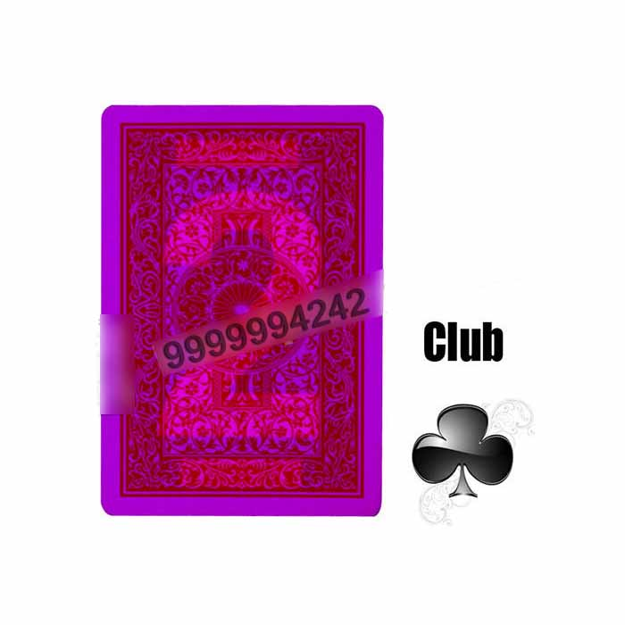 India 100% Plastic Four Index Jumbo Poker Marked Playing Cards For Poker Cheat
