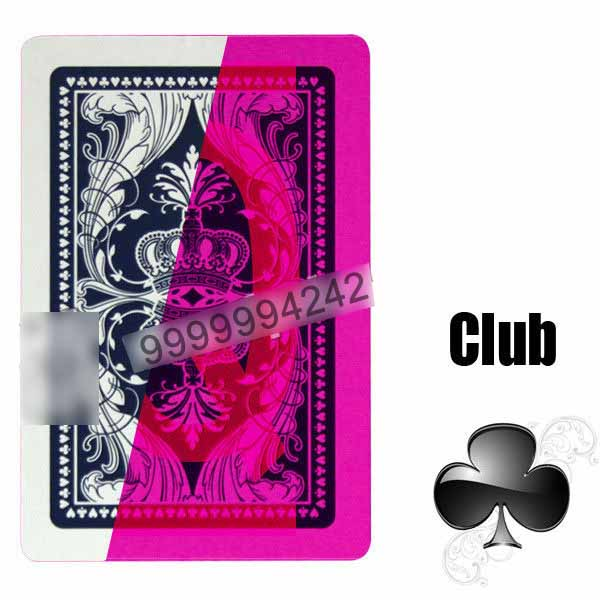 India Wang Guan 828 Invisible Playing Cards For Poker Games, Bridge Size