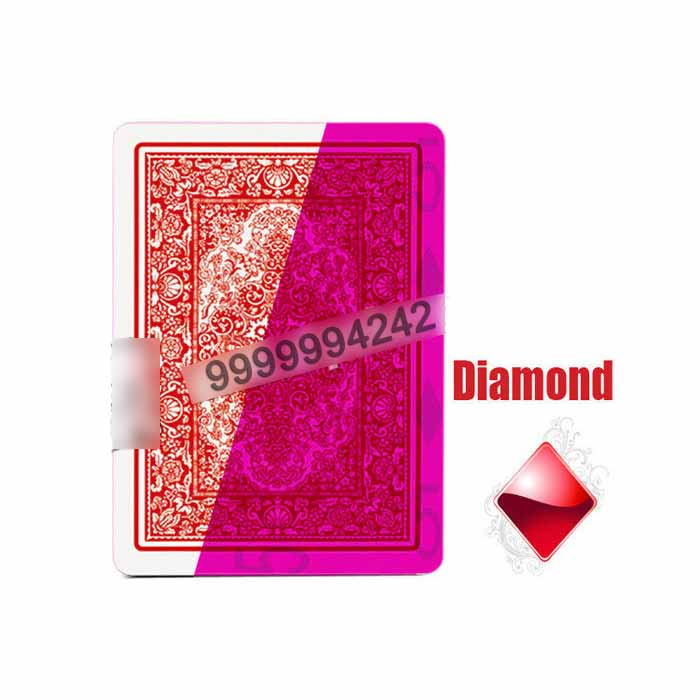 Invisible Cards Cheat Playing Cards 64*90mm Apply To Gambling