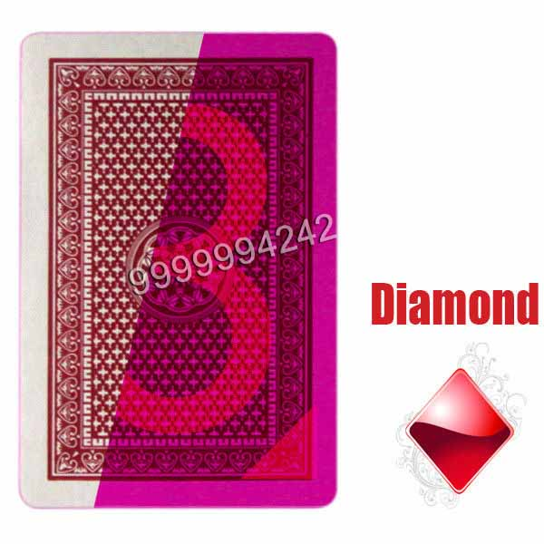 India Lion Paper Invisible Playing Cards Casino Poker Cards For Magic Show