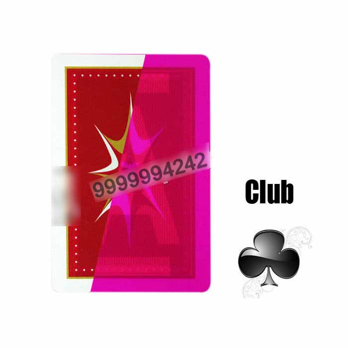 Gamble Cheat Taiwan Rocket Invisible Playing Cards Plastic Marked
