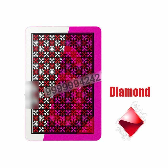100% Plastic Playing Marked Card Deck Invisible Ink For Poker Cheat