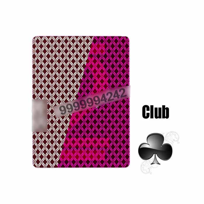 Eco 100% Pvc Plastic Marked Deck Card Tricks For Casino Games