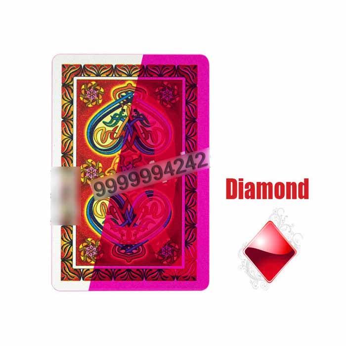 Asian NAP Invisible Plastic Playing Cards For Gambling and Entertaiment