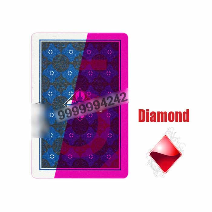 Asian NAP Plastic Invisible Playing Cards For Magic show And Poker Cheat