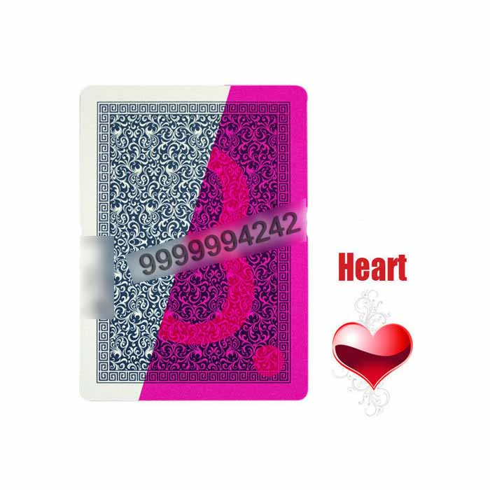 Turkey Star 100% Plastic Invisible Playing Cards For Poker Analyzer Support To Texas Holdem Omaha Game