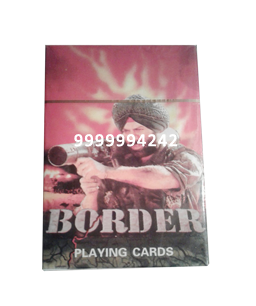 BORDER CHEATING PLAYING CARDS