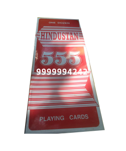 HINDUSTAN CHEATING PLAYING CARDS