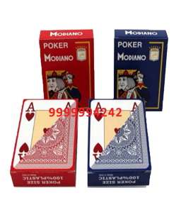 POKER MODIANO CHEATING PLAYING CARDS