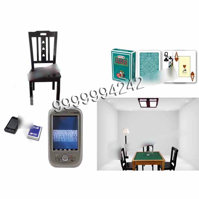 Casino Cheating Devices Wooden Poker Chair With Infrared Laser Camera