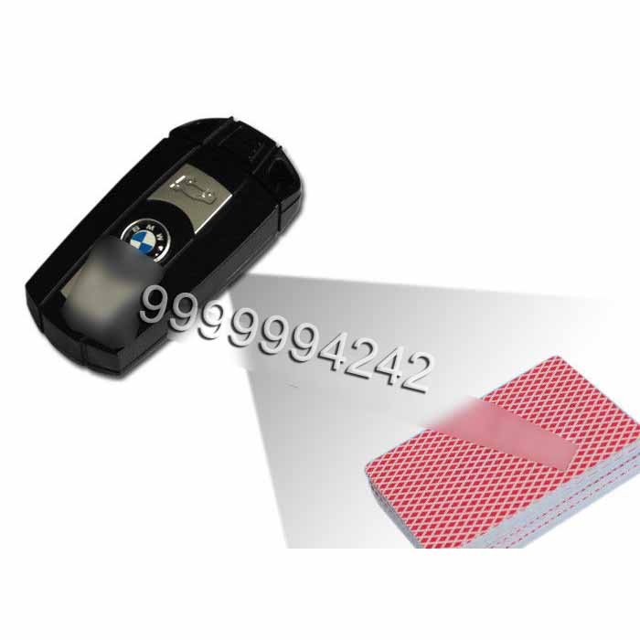 BMW Car Key Camera Poker Cheating Tools To Scan And Analyze Bar Codes Sides Cards