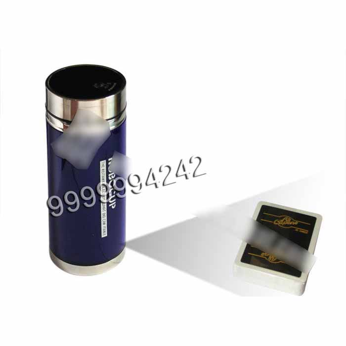 Vacuum Cup Invisible Mini Camera Playing Cards Scanner To Scan Bar Codes Marked Playing Cards
